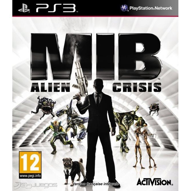MIB: Alien Crisis (PS3) б/у