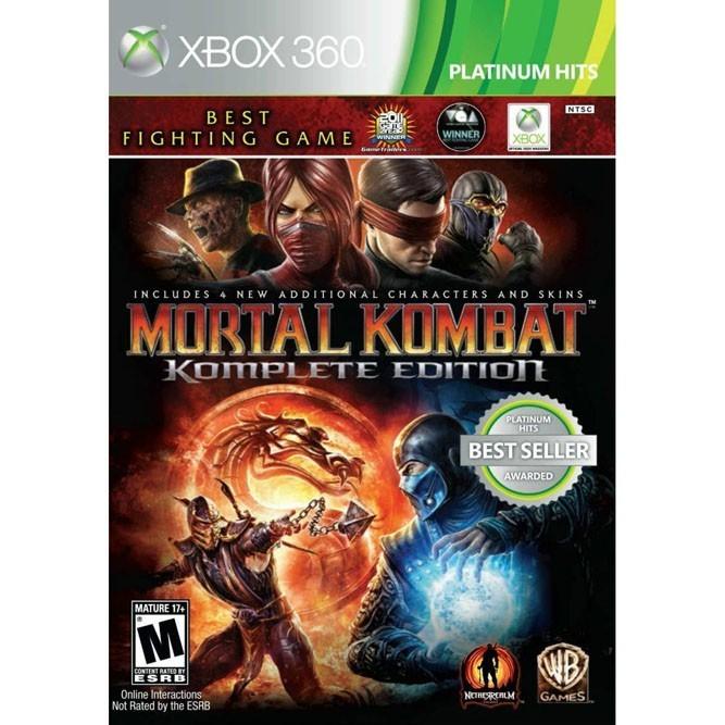 Mortal Kombat complete edition (Xbox 360)