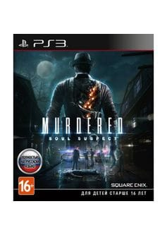 Murdered soul suspect (PS3) б/у