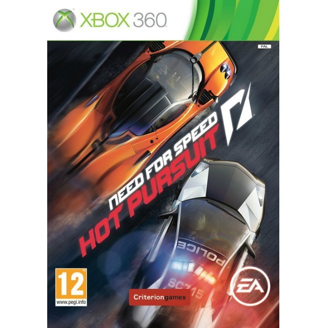Need for Speed: Hot Pursuit (Xbox 360) б/у