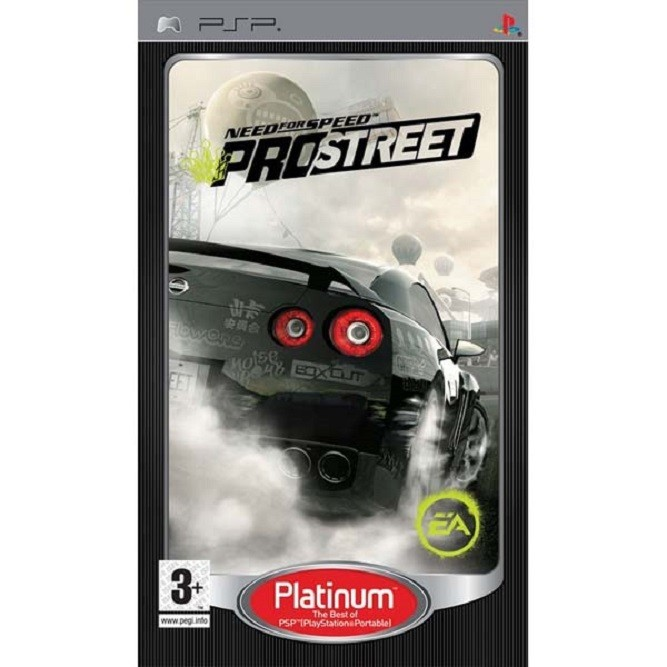 Need for speed prostreet (PSP)