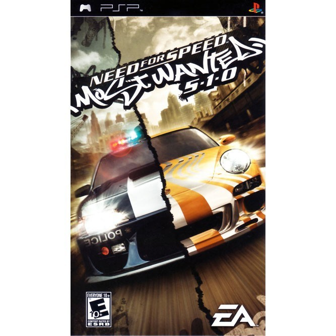 Need for Speed Most Wanted 5-1-0 (PSP)