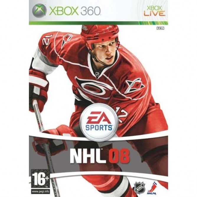 NHL 08 (Xbox 360) б/у