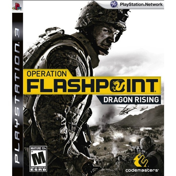 Operation Flashpoint Dragon Rising (PS3) б/у