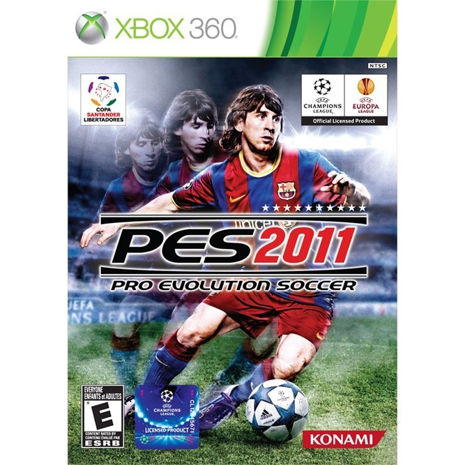 PES 2011 (Xbox 360) б/у