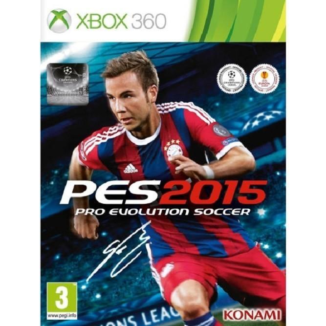 PES 2015 pro evolution soccer (Xbox 360) б/у