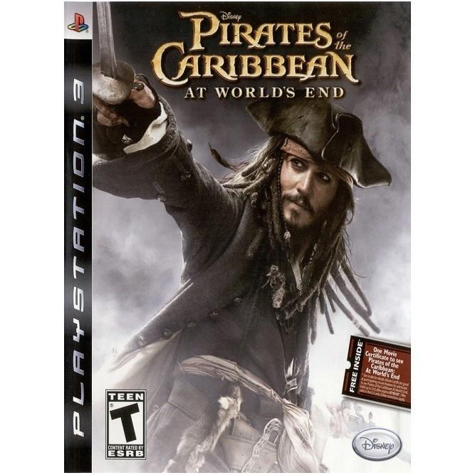 Пираты карибского моря на краю света (PS3) б/у
