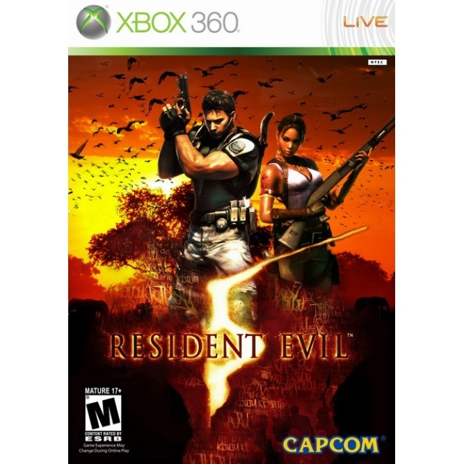 Resident Evil 5 (Xbox 360) б/у