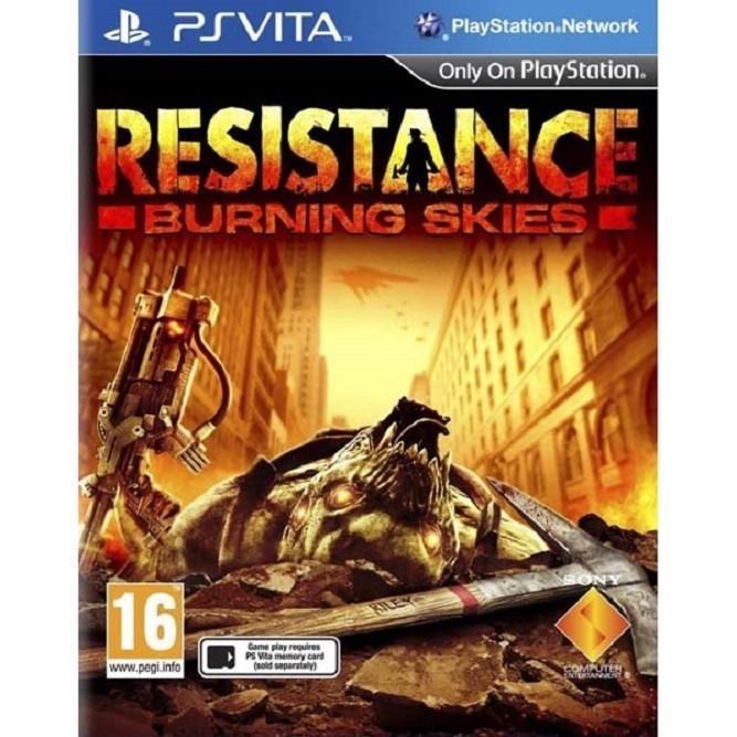 Resistance burning skies (PS Vita)