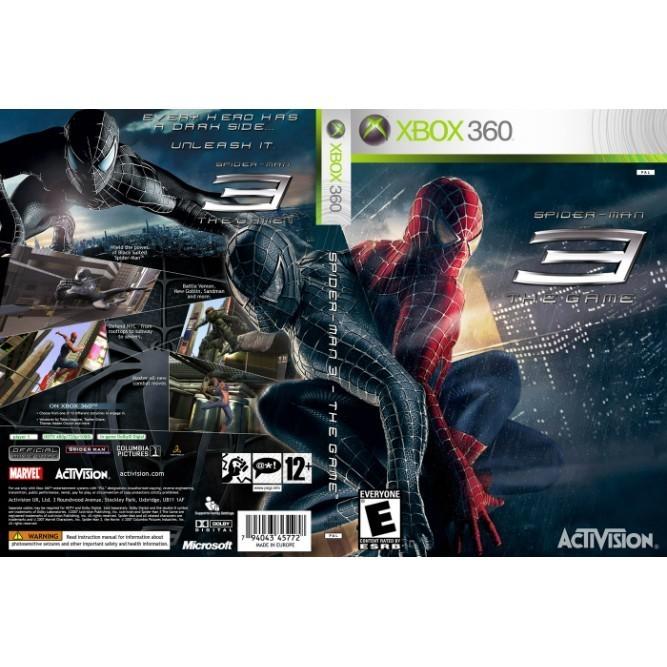Spider-Man 3 (Xbox 360) б/у