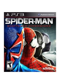 Spider-Man: Shattered Dimensions (PS3) б/у