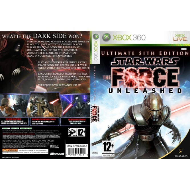 Star Wars: The Force Unleashed - Ultimate Sith Edition (Xbox 360) б/у