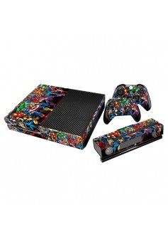 Комплект наклеек Супергерои для консоли Xbox One
