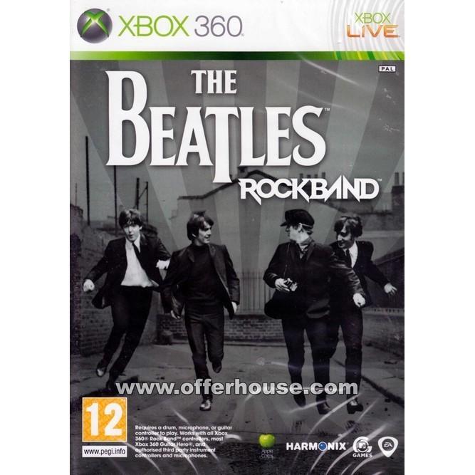 The Beatles: Rock Band (Xbox 360) б/у