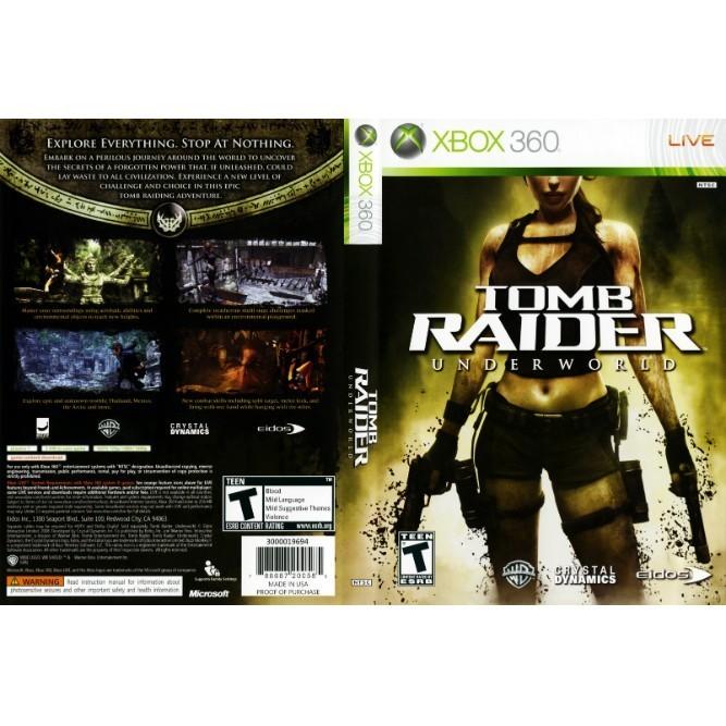 Tomb Raider Underworld (Xbox 360) б/у