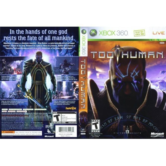 Too Human (Xbox 360) б/у
