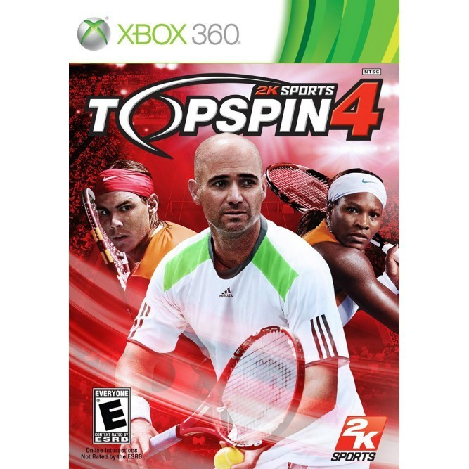 Topspin 4 (Xbox 360) б/у
