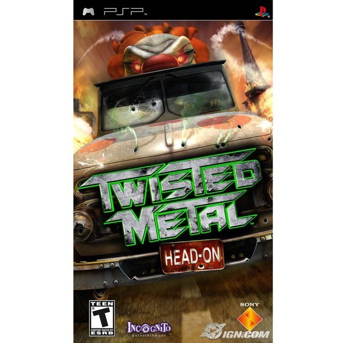 Twisted Metal: Head on (PSP) б/у