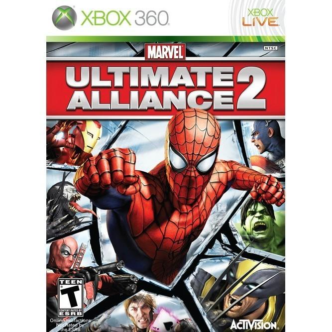 Marvel Ultimate Alliance 2: Fusion (Xbox 360) б/у