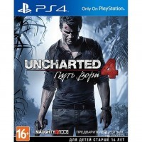 Uncharted 4: Путь Вора (PS4) б/у