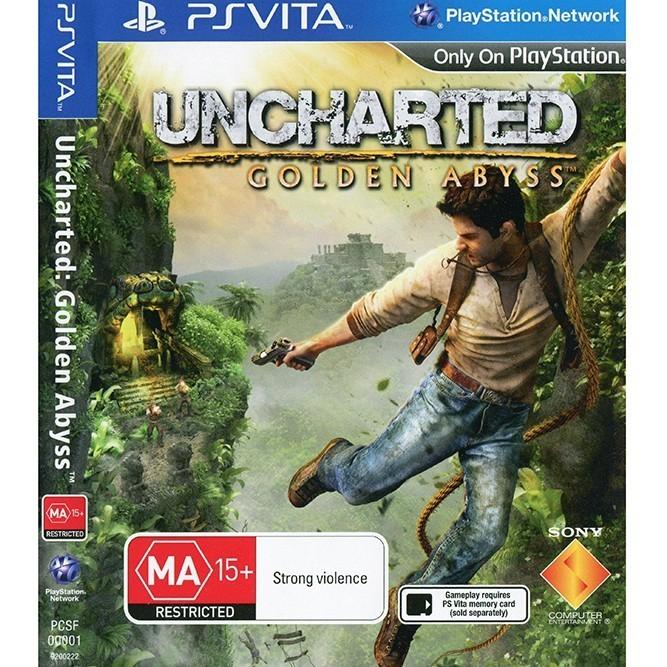 Uncharted золотая бездна (PS Vita)