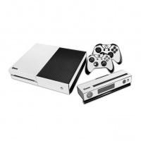 Белые наклейки для консоли Xbox One, двух геймпадов и Kinect