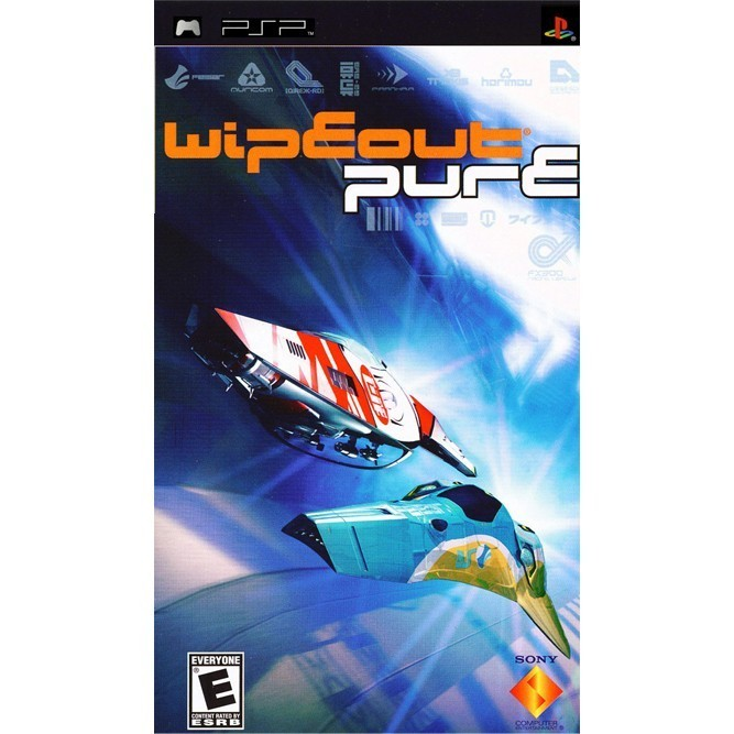 Wipeout Pure (PSP) б/у