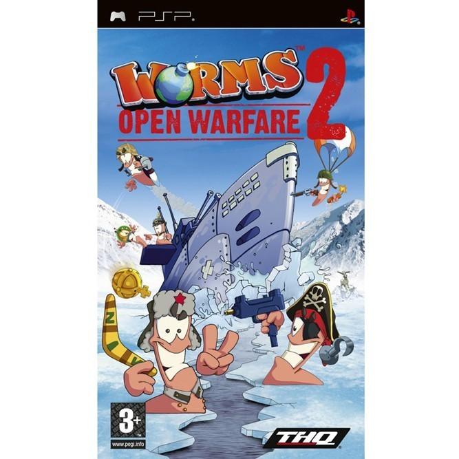 Worms: Open Warfare 2 (PSP) б/у