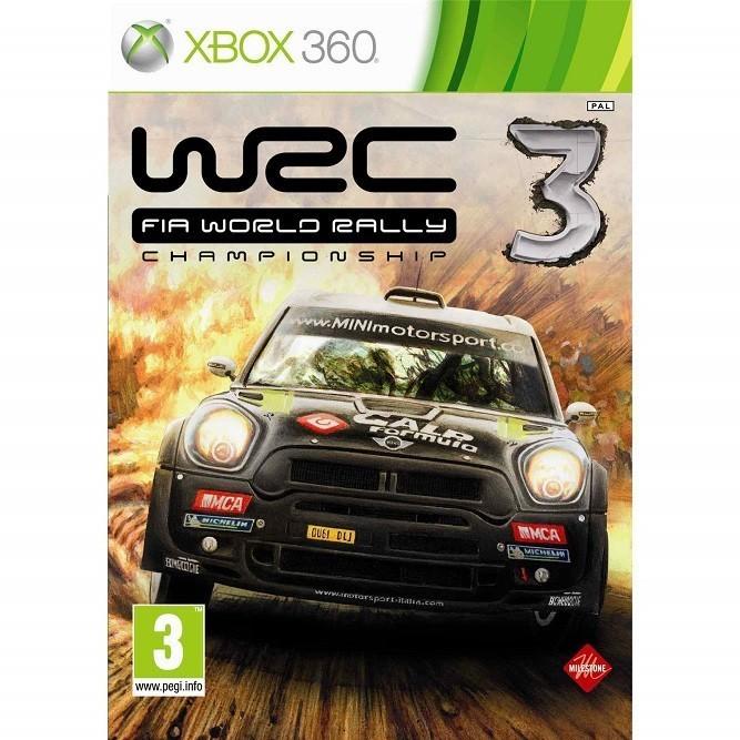 WRC 3 fia world rally championship 3 (Xbox 360) б/у