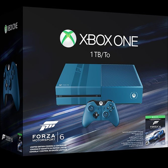 Xbox One 1TB Forza Motorsport 6 Limited Edition