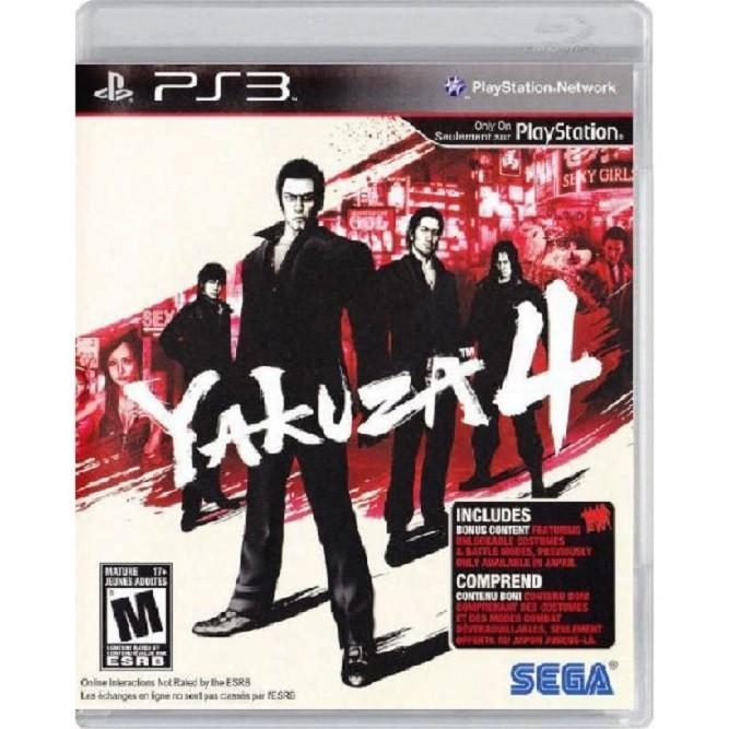Yakuza 4 (PS3) б/у