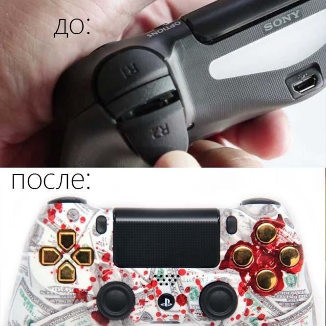 Ремонт джойстиков (PS4, PS3, Xbox One, Xbox 360)