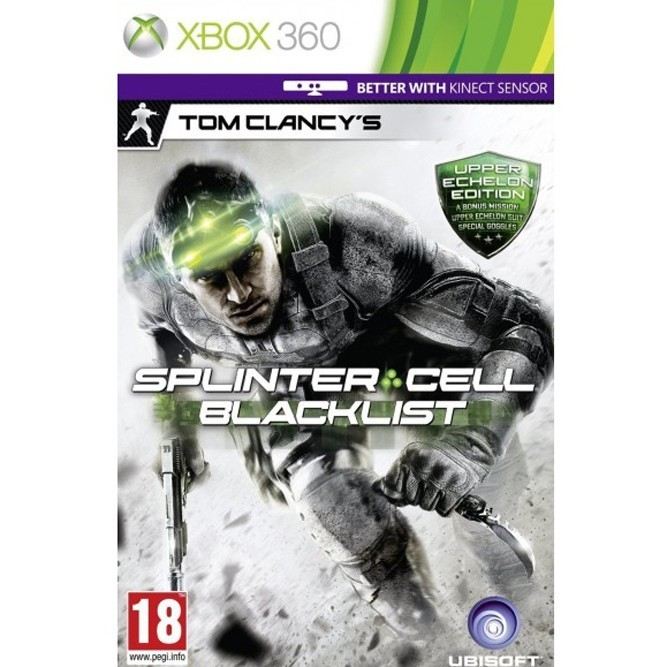 Splinter cell: Blacklist. Upper Echelon edition (Xbox 360) б/у
