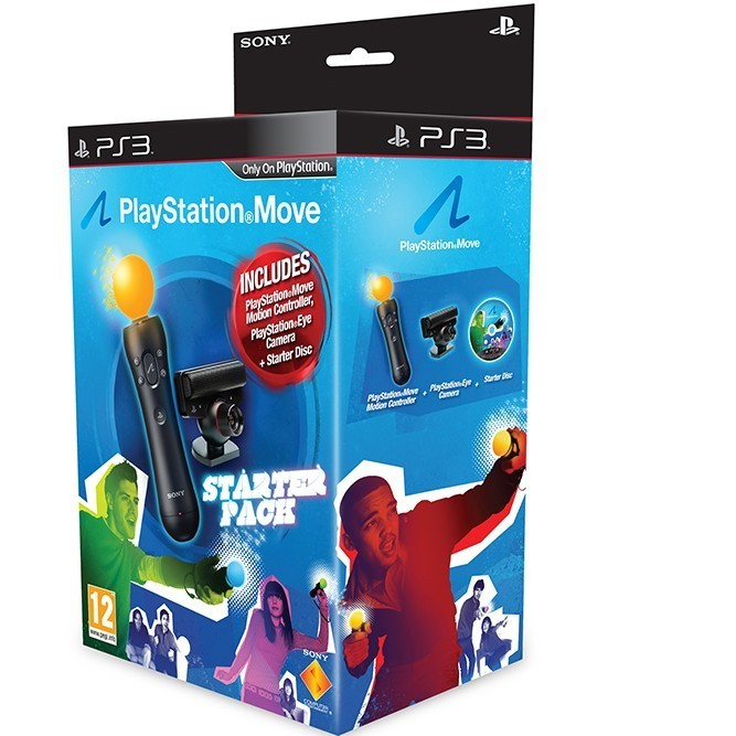 Move Starter Pack (Move+PS Eye) (PS3)