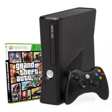 Приставка Xbox 360 Slim + Геймпад Microsoft Controller беспроводной + игра Grand Theft Auto V