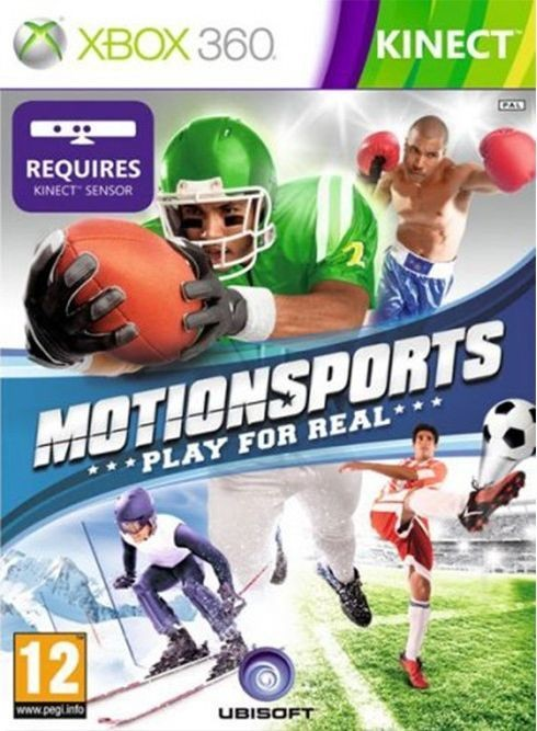 Игра Motionsports: Play for Real (Xbox 360) б/у