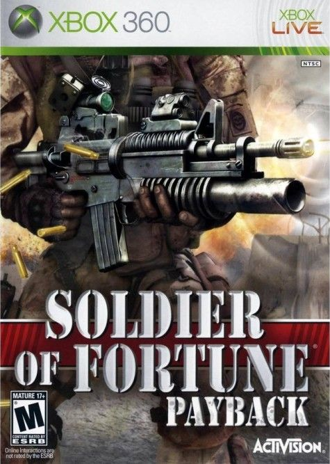 Игра Soldier of Fortune: Payback (Xbox 360) б/у