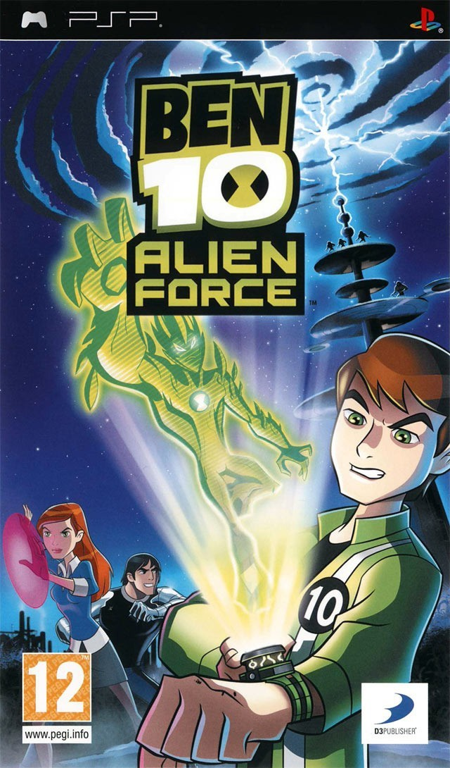 Игра Ben 10: Alien Force (PSP) б/у