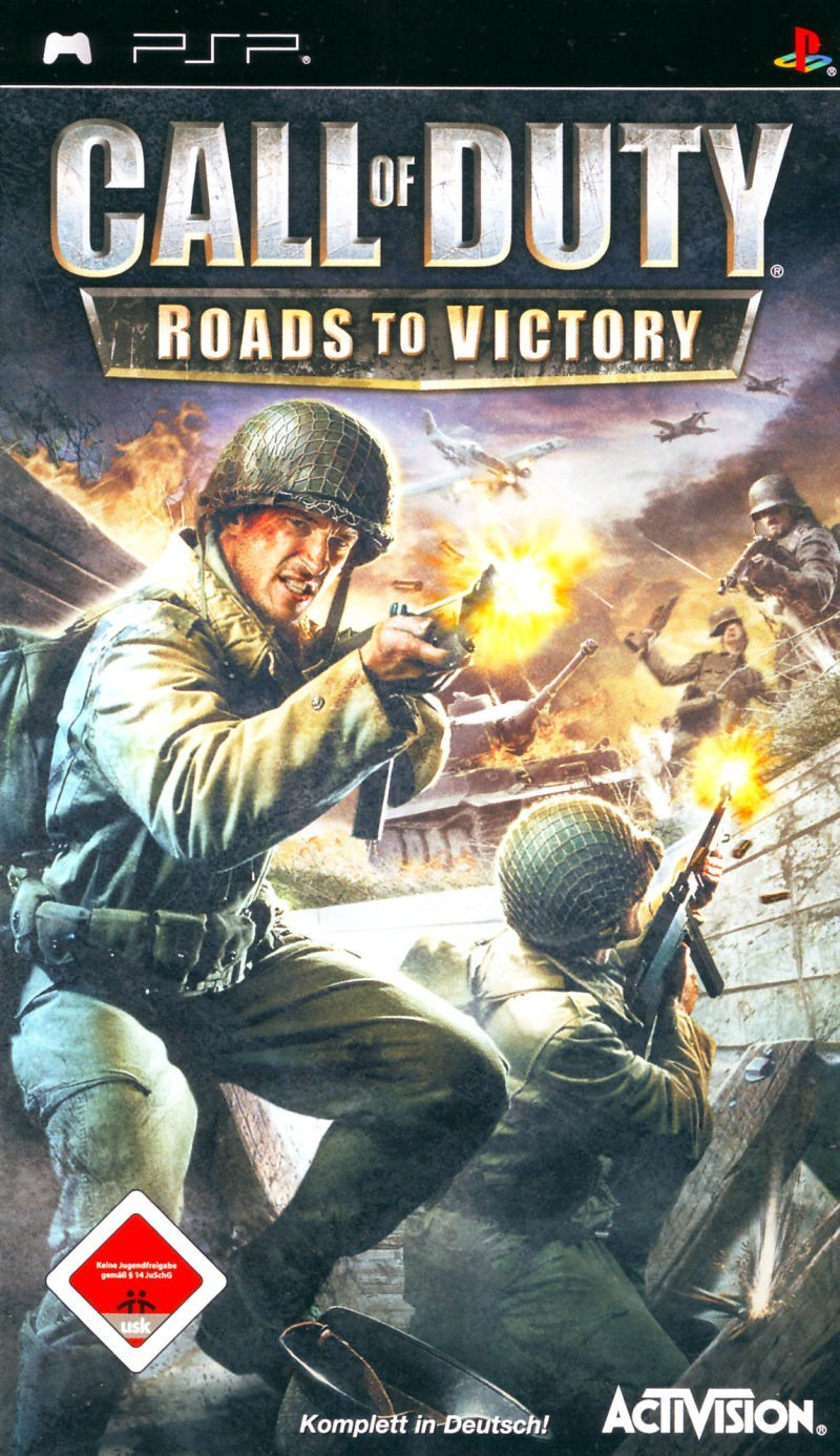 Игра Call of Duty: Roads to Victory (PSP) б/у