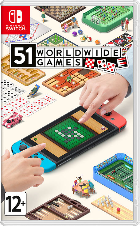 Игра 51 Worldwide Games (Nintendo Switch)