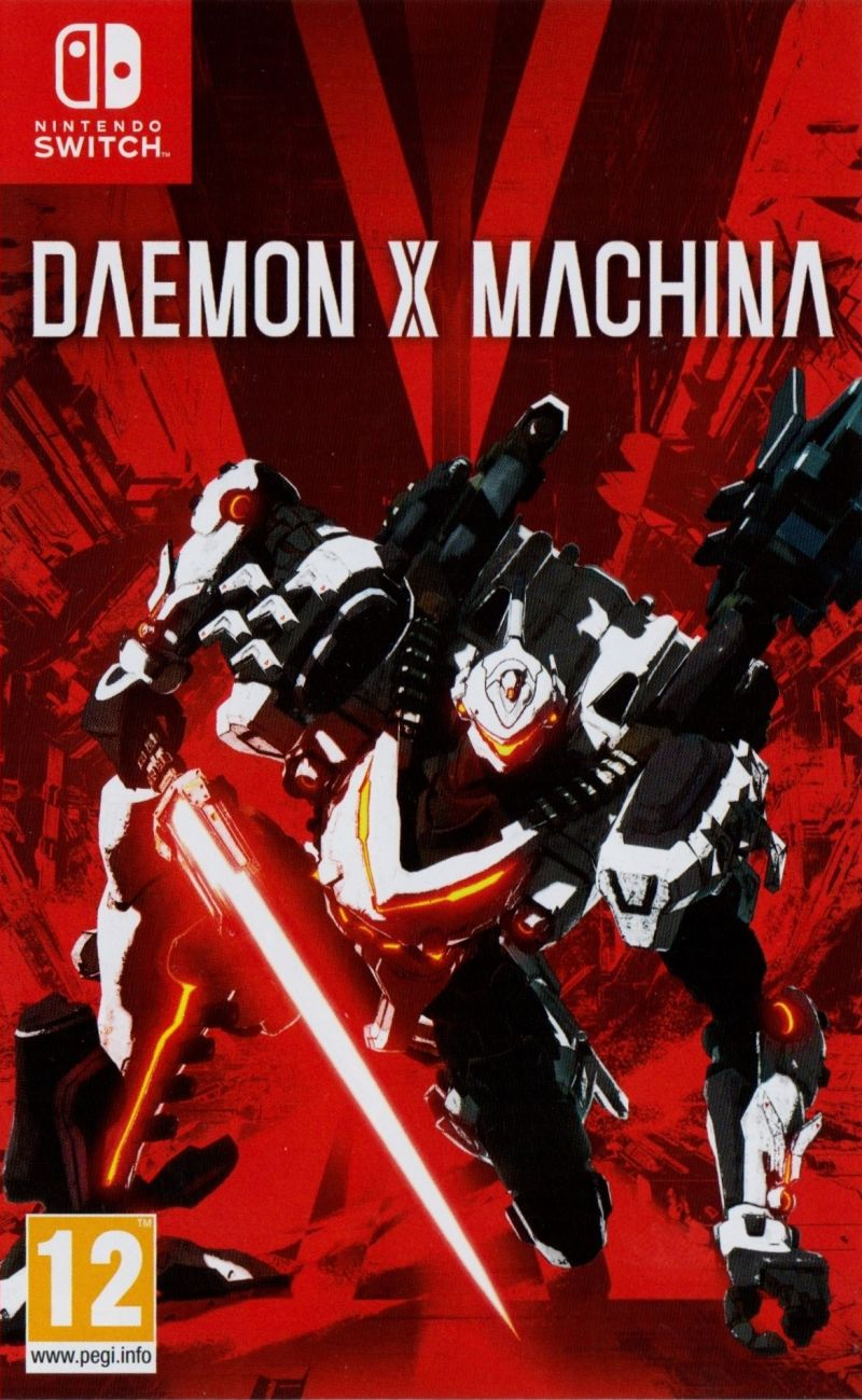 Игра Daemon X Machina (Nintendo Switch) (rus) б/у