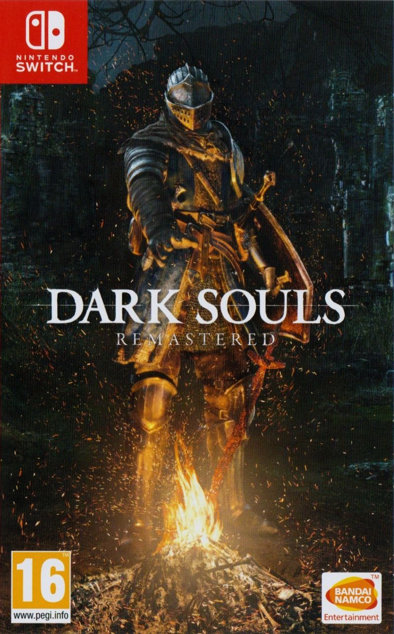 Игра Dark Souls Remastered (Nintendo Switch) б/у