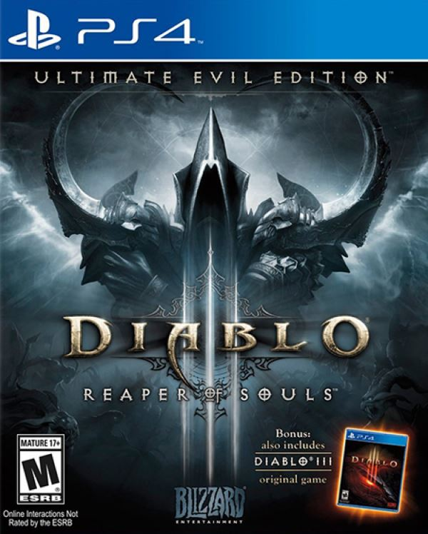 Игра Diablo III: Reaper of Souls (PS4) б/у