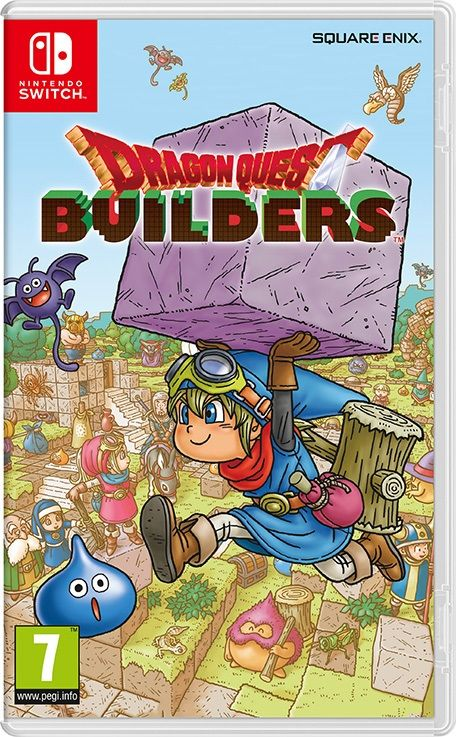 Игра Dragon Quest Builders (Nintendo Switch) б/у
