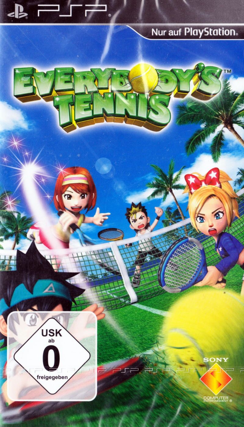 Игра Everybody's Tennis (PSP) б\у (rus)
