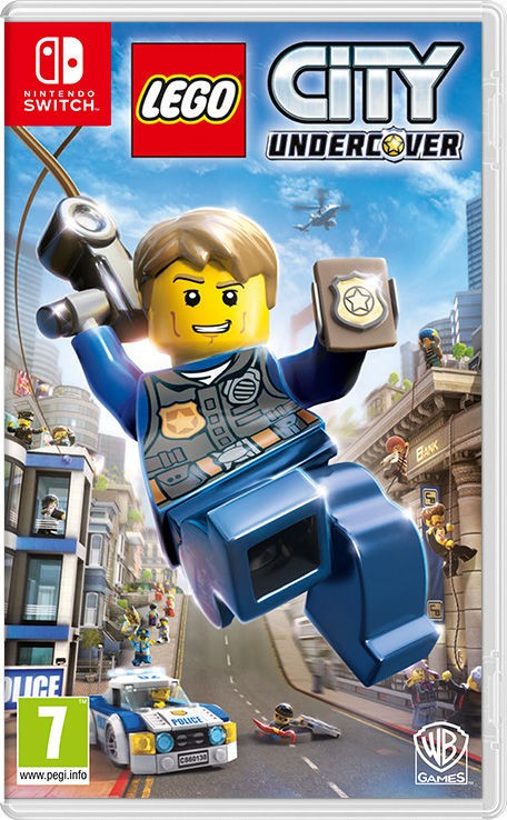 Игра LEGO City Undercover (Nintendo Switch) (rus)