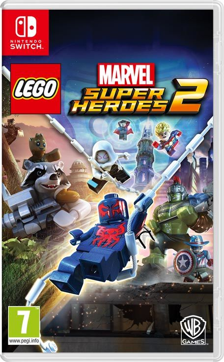 Игра LEGO Marvel Super Heroes 2 (Nintendo Switch) (rus sub)