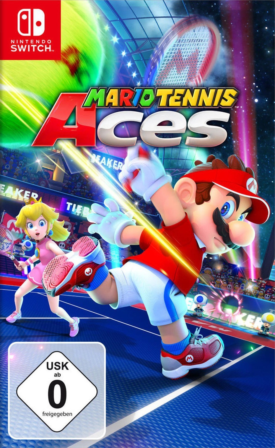 Игра Mario Tennis Aces (Nintendo Switch) (rus)