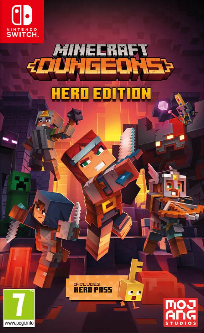 Игра Minecraft Dungeons - Hero Edition (Nintendo Switch) (rus sub)
