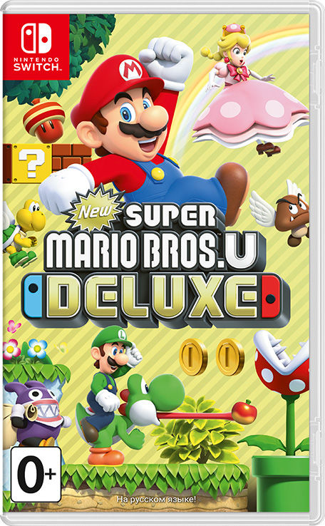 Игра New Super Mario Bros. U Deluxe (Nintendo Switch) (rus)